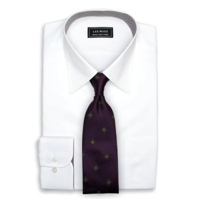 レギュラーカラーシャツ ソフトタッチ ベーシック LES MUES