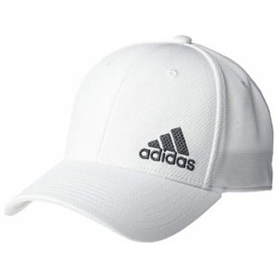 (取寄)アディダス 2 ストレッチ フィット ストラクチャード キャップ adidas Release II Stretch Fit Structured Cap White/Onix