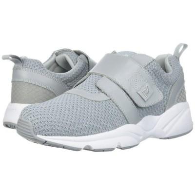 プロペット Propet メンズ シューズ・靴 Stability X Strap Light Grey