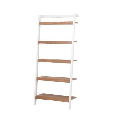 ラック 収納ラック 立てかけ ホワイト 幅80cm 棚 本棚 天然木 ディスプレイラック おしゃれ 壁面収納 リビング 玄関