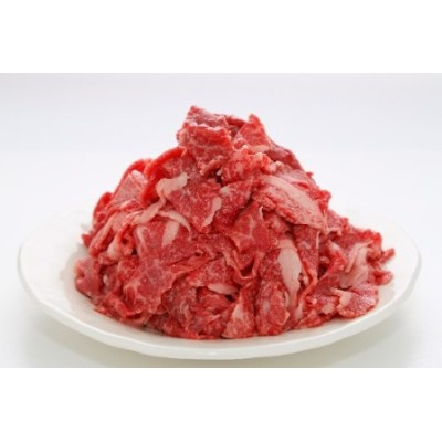 E-203.甲州鍋料理【紅梅や】A4、A5ランク限定「甲州牛」切り落とし〈1kg〉