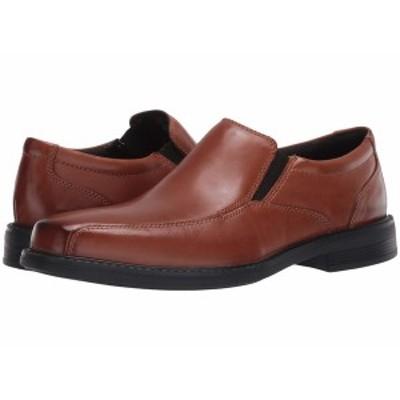 ボストニアン メンズ スリッポン・ローファー シューズ Bolton Free Tan Leather