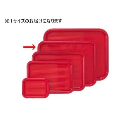 マジックトレー 角型 14インチ 大 赤 PP袋入 曙産業 MT-002