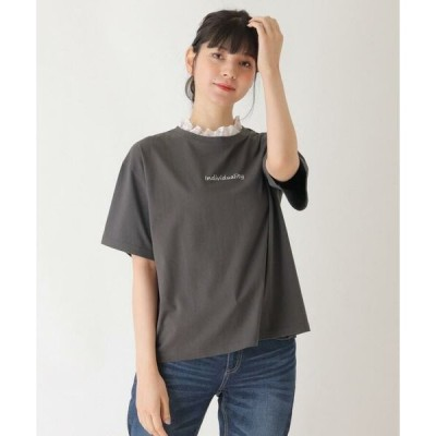 SHOO・LA・RUE / シューラルー 【S-L】襟レースTシャツ
