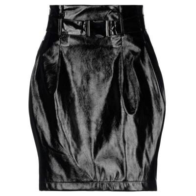 ANNARITA N TWENTY 4H ひざ丈スカート  レディースファッション  ボトムス  スカート  ロング、マキシ丈スカート ブラック