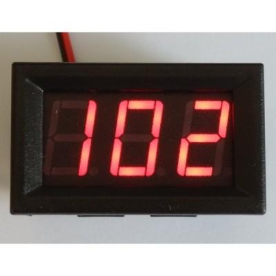 交流デジタル電圧計 AC 70-500V