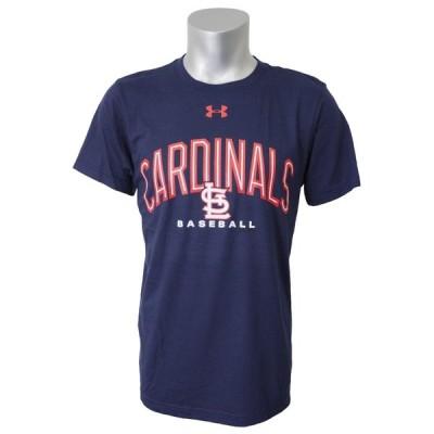 MLB カージナルス Tシャツ 半袖 UA パフォーマンス アーチ アンダーアーマー/UNDER ARMOUR ネイビー【OCSL】