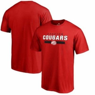 Fanatics Branded ファナティクス ブランド スポーツ用品  Houston Cougars Red Team Strong T-Shirt
