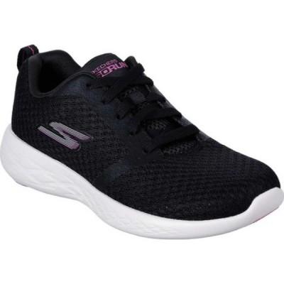 スケッチャーズ スニーカー シューズ レディース GOrun 600 Circulate Sneaker (Women's) Black/Pink