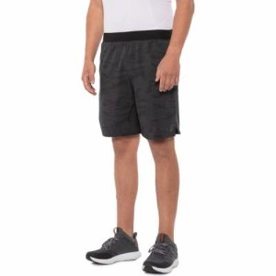 アシックス ASICS メンズ ランニング・ウォーキング ショートパンツ ボトムス・パンツ Perforated Running Shorts - 9 Glacer Grey