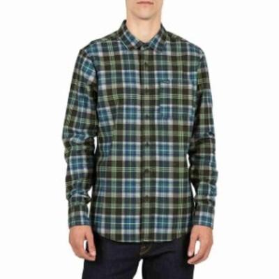 volcom ボルコム ファッション 男性用ウェア シャツ volcom hayden-flannel