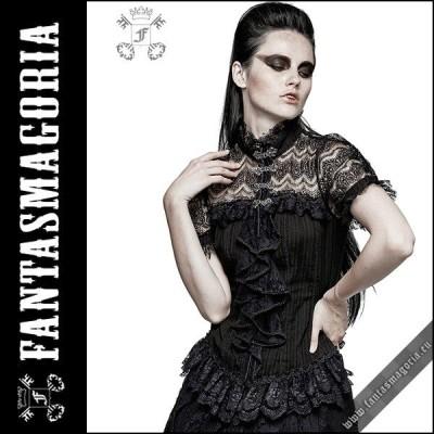 【予約】Fantasmagoria ファンタスマゴリア Mistique shirt punk rave トップス Y-723