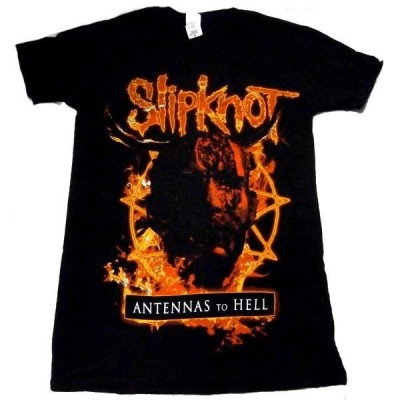 【SLIPKNOT】スリップノット「Antennas to Hell」Tシャツ