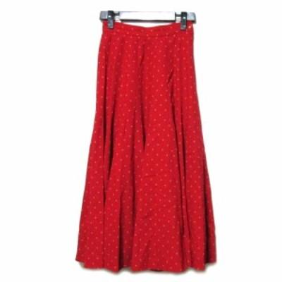 80's vintage KENZO「1」Flare long dot skirt ヴィンテージ ケンゾー フレア ドット ロング スカート (マキシ丈 ビンテージ 水玉)