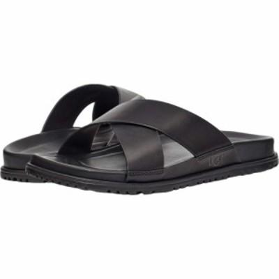 アグ UGG メンズ サンダル シューズ・靴 Wainscott Slide Black Leather