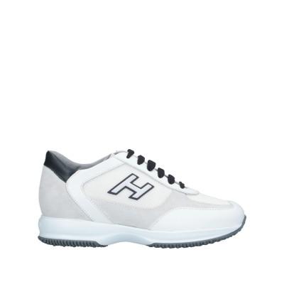 ホーガン HOGAN スニーカー&テニスシューズ(ローカット) ホワイト 12.5 革 / 紡績繊維 スニーカー&テニスシューズ(ローカット)