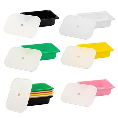 【日居良品】多彩小收納盒-含蓋(5色可選)