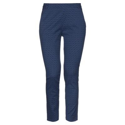 CARACTÈRE パンツ ブルー 38 コットン 58% / ナイロン 37% / ポリウレタン 5% パンツ