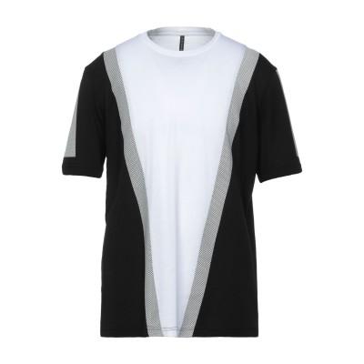 BLACK BARRETT T シャツ ホワイト S コットン 50% / レーヨン 50% T シャツ