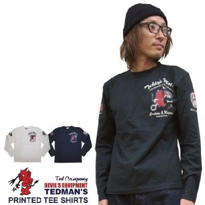 Tシャツ メンズ / TEDMAN'S テッドマン リント L/S Tシャツ(カスタム&リペア )