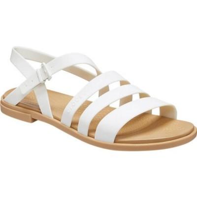 クロックス Crocs レディース サンダル・ミュール シューズ・靴 Tulum Strappy Sandal Oyster/Tan
