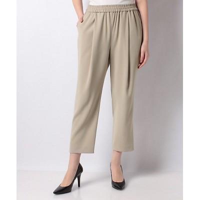 <Leilian(Women)/レリアン>【my perfect wardrove】イージークロップドパンツ ベージュ【三越伊勢丹/公式】