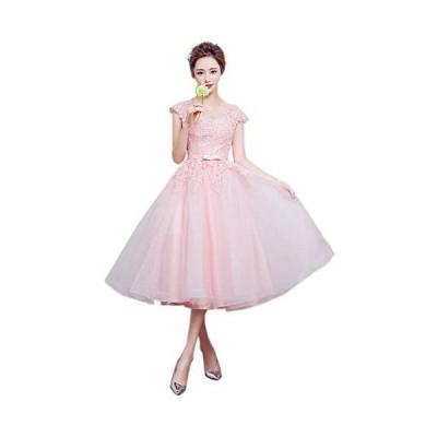 可愛い ウェディングドレス 着痩せ ふんわり プリンセス イブニングドレス 気質 花嫁ドレス 結婚式 二次会 パーティー 花嫁ドレス お呼ばれドレスパ