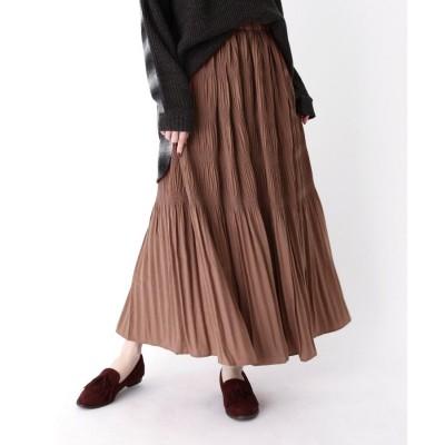 ZAMPA(ザンパ) マジョリカプリーツマキシスカート
