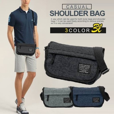 B6サイズ ショルダーバッグ メンズ レディース アウトドア スポーツ カジュアル メッセンジャーバック 斜めがけ 鞄 カバン かばん