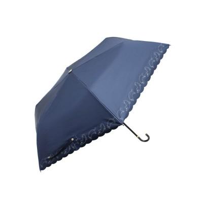 (RM STORE/アールエムストア)晴雨兼用折り畳み傘6コマ/レディース ネイビー