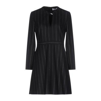 マウロ グリフォーニ MAURO GRIFONI ミニワンピース&ドレス ブラック 46 ウール 100% ミニワンピース&ドレス