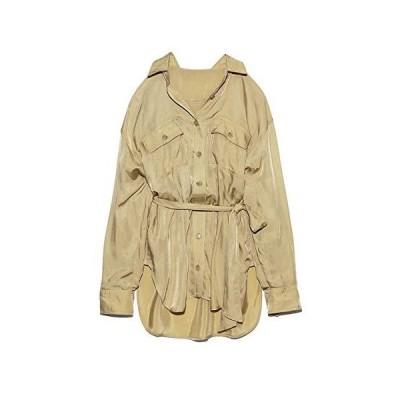 スナイデル CPOシャツジャケット SWFJ204018 レディース BEG 日本 F (FREE サイズ)