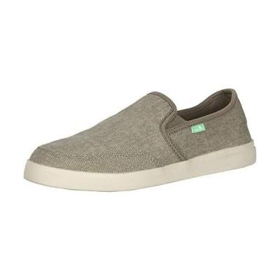 Sanuk Men's Vagabond Slip-On Sneaker Brindle 8 2E US