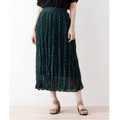 SHOO・LA・RUE / シューラルー 【WEB限定サイズ・04(LL)あり】シフォンプリーツスカート