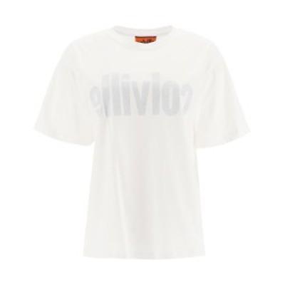 COLVILLE/コルヴィル White Colville t-shirt with logo print レディース 秋冬2020 CVF20036 ik