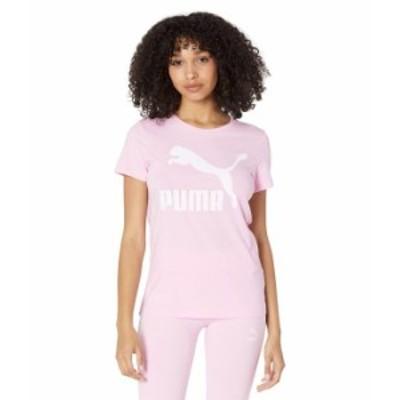 プーマ レディース シャツ トップス Classics Logo Tee Pink Lady