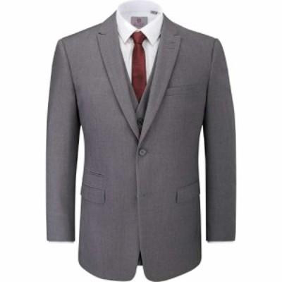スコープス Skopes メンズ スーツ・ジャケット アウター Madrid Suit Jacket Grey