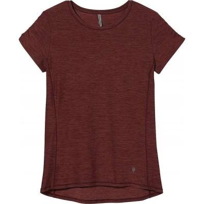 ロイヤルロビンズ Royal Robbins レディース Tシャツ トップス Tech Travel Tee Raspberry Heather