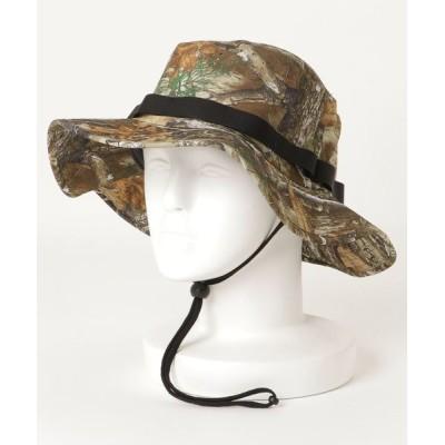 Hurley / M PHTM VAGABOND REALTREE HAT /ハーレー ファントム サファリハット 水陸両用 帽子 迷彩 UPF 50+ MEN 帽子 > ハット
