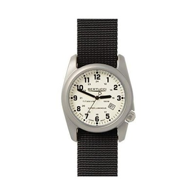 (ベルトゥッチ)Bertucci A-2T オリジナル クラシック腕時計 Swiss Super Luminious Dial - Black Nylon【並行輸入品】