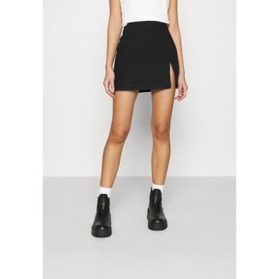 ヌー イン スカート レディース ボトムス MINI SKIRT - Mini skirt - black