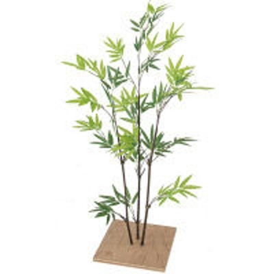 タカショータカショー 人工観葉植物 ミニ黒竹3本立 80cm GD-75S 1個(直送品)