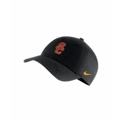 ナイキ メンズ 帽子 アクセサリー USC Trojans Core Easy Adjustable Cap Black