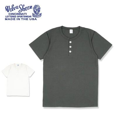 Velva Sheen ベルバシーン S/S HENLEY TEE ショートスリーブヘンリーティー 161007 【Tシャツ/半袖/トップス/アウトドア】【メール便・代引不可】