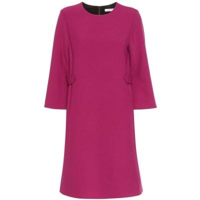 ドロシー シューマッハ Dorothee Schumacher レディース ワンピース ワンピース・ドレス Business Perfection wool-blend dress intense fuchsia