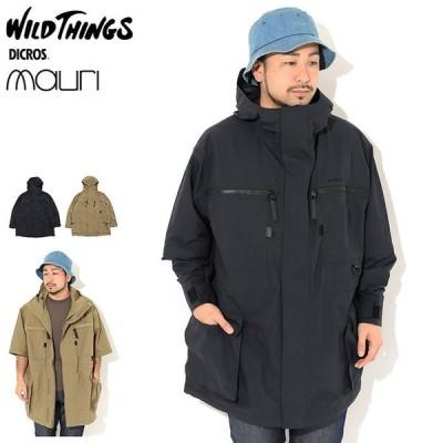 ワイルドシングス ジャケット WILD THINGS メンズ タクティカル リップ コート ( Tactical Rip Coat ビッグシルエット アウター WT21127AD )
