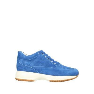 ホーガン HOGAN スニーカー&テニスシューズ(ローカット) ブルー 38 革 スニーカー&テニスシューズ(ローカット)