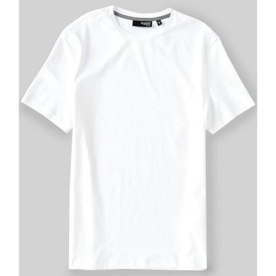 ムラノ メンズ Tシャツ トップス Liquid Luxury Slim-Fit Tipped Short-Sleeve Tee White