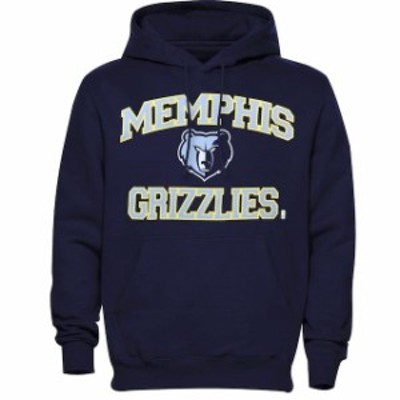 Majestic マジェスティック スポーツ用品  Memphis Grizzlies Heart & Soul Pullover Hoodie - Navy Blue