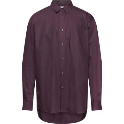 コム デ ギャルソン COMME des GARCONS SHIRT メンズ シャツ トップス solid color shirt Deep purple